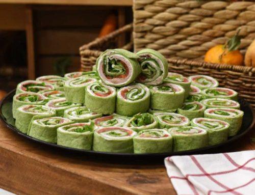 Ham Pinwheel Platter